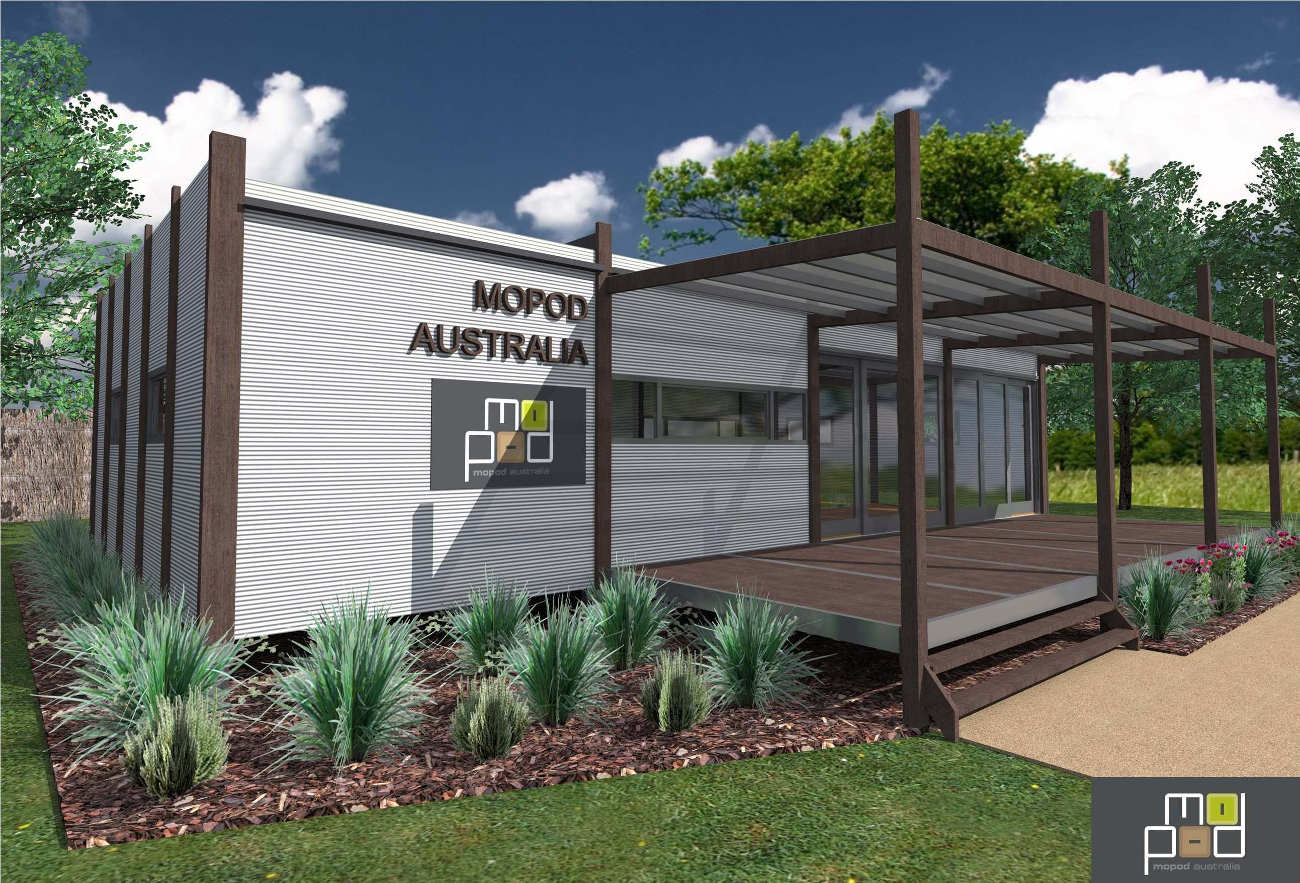 Modular prefabricated transportable home granny flat for Holiday home designs victoria